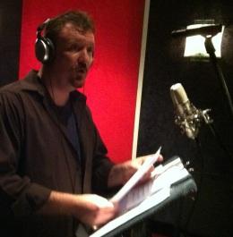 Lon recording Gabriel-close